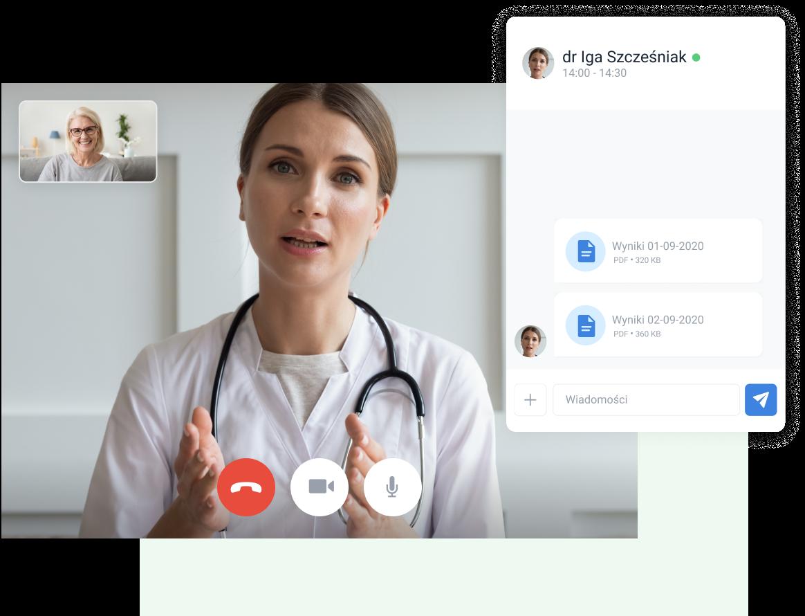 wideo konsultacje telemedycyna
