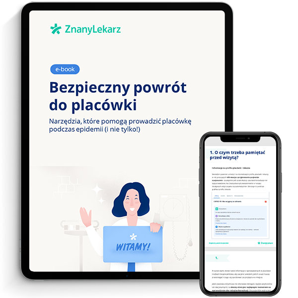 PL FAC - ebook - Bezpieczny powrót do placówki - mockup